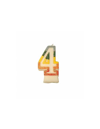 Bougie anniversaire n°4