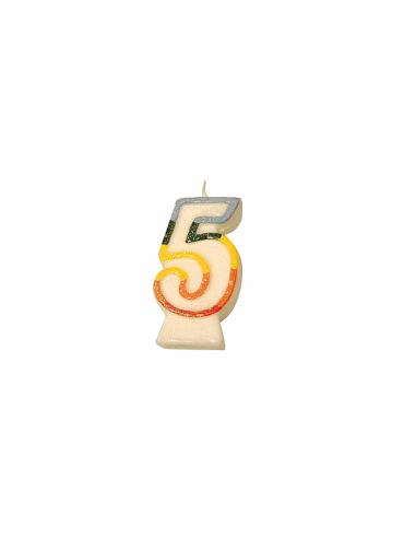 Bougie anniversaire n°5