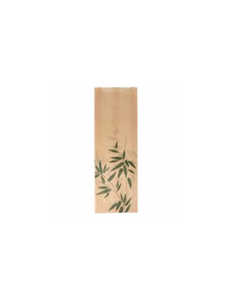 """Sachet baguette """"Feel green"""" 34 g/m² 12+4x35 cm"""