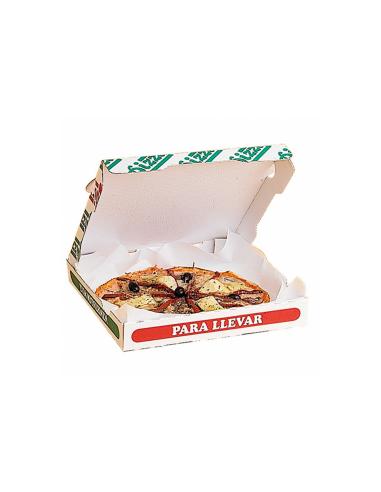 Feuille ingraissable pour boîte à pizza 34 g/m² 29x29 cm