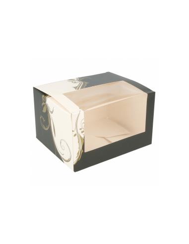 Boîte patissière avec fenêtre 275 g/m²