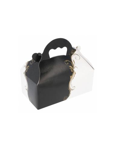 Boîte patissière avec poignée 300 g/m² 110x18x7 cm