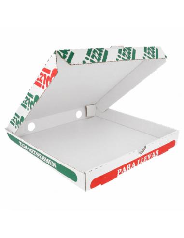 oîtes Pizza Blanches - Hauteur 3,5 cm