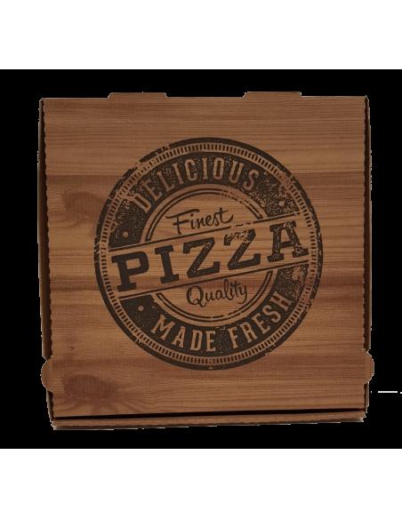 Boîtes pizza Carton Brun