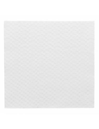 Serviettes ECOLABEL 1 PLI 20 G/M2 30x30 CM - Blanc ouaté