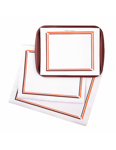 SETS DE TABLE ORANGE - MARRON