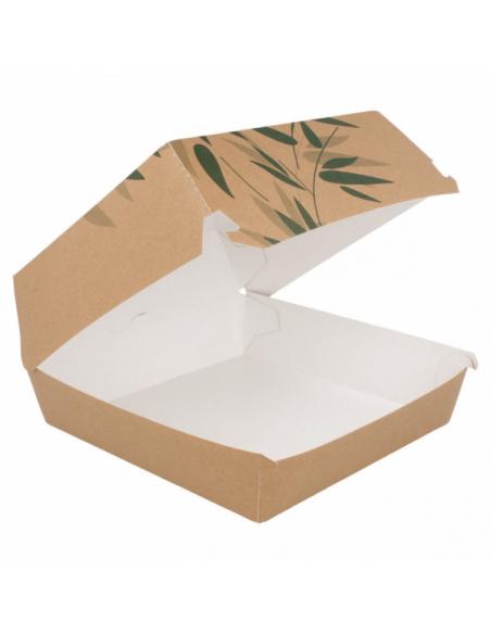 Boîte carton hamburger