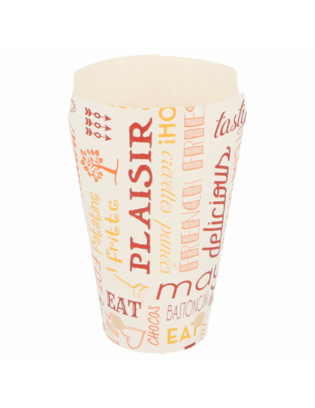 emballage cornet de frites en carton