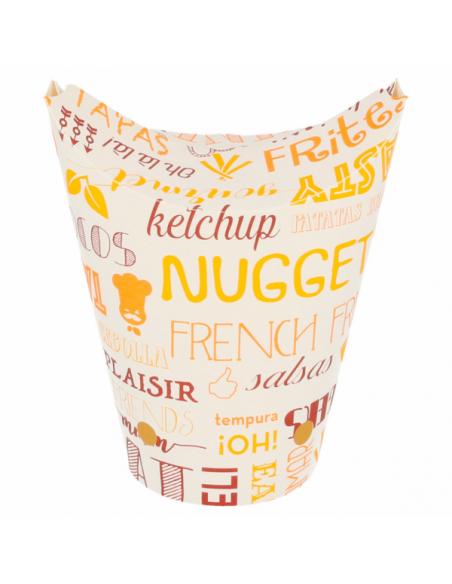 emballage cornet de frite jetable