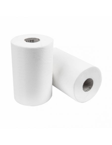 """Essuie-mains """"Mini Barril"""" Ecolabel 2 plis 19 g/m²- Bobine 0,35 kg"""