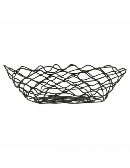 Corbeille de présentation en acier ovale