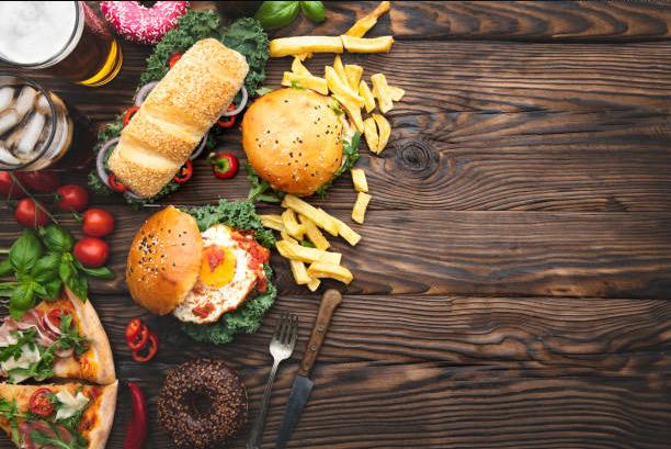 catégorie snack frites et hamburger